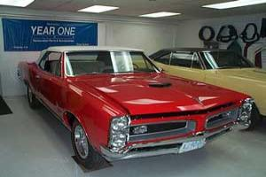 66 GTO Tri-Power Ram Air Convertible
